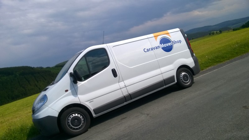 CaravanMoverShop  Complete installation of the mover at your own home or campsite